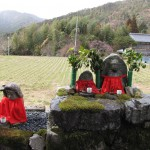 OH - statues et champs