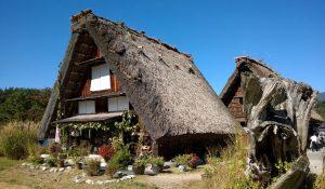 Les maisons à toit de chaume de Shirakawago