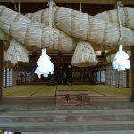 Izumo Taisha - rice straw rope