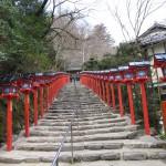 Escaliers d'accès à un temple