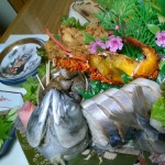KH poisson fourré et sashimi