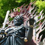 Fudomyo statue