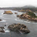 Wild coast near Hinomisaki